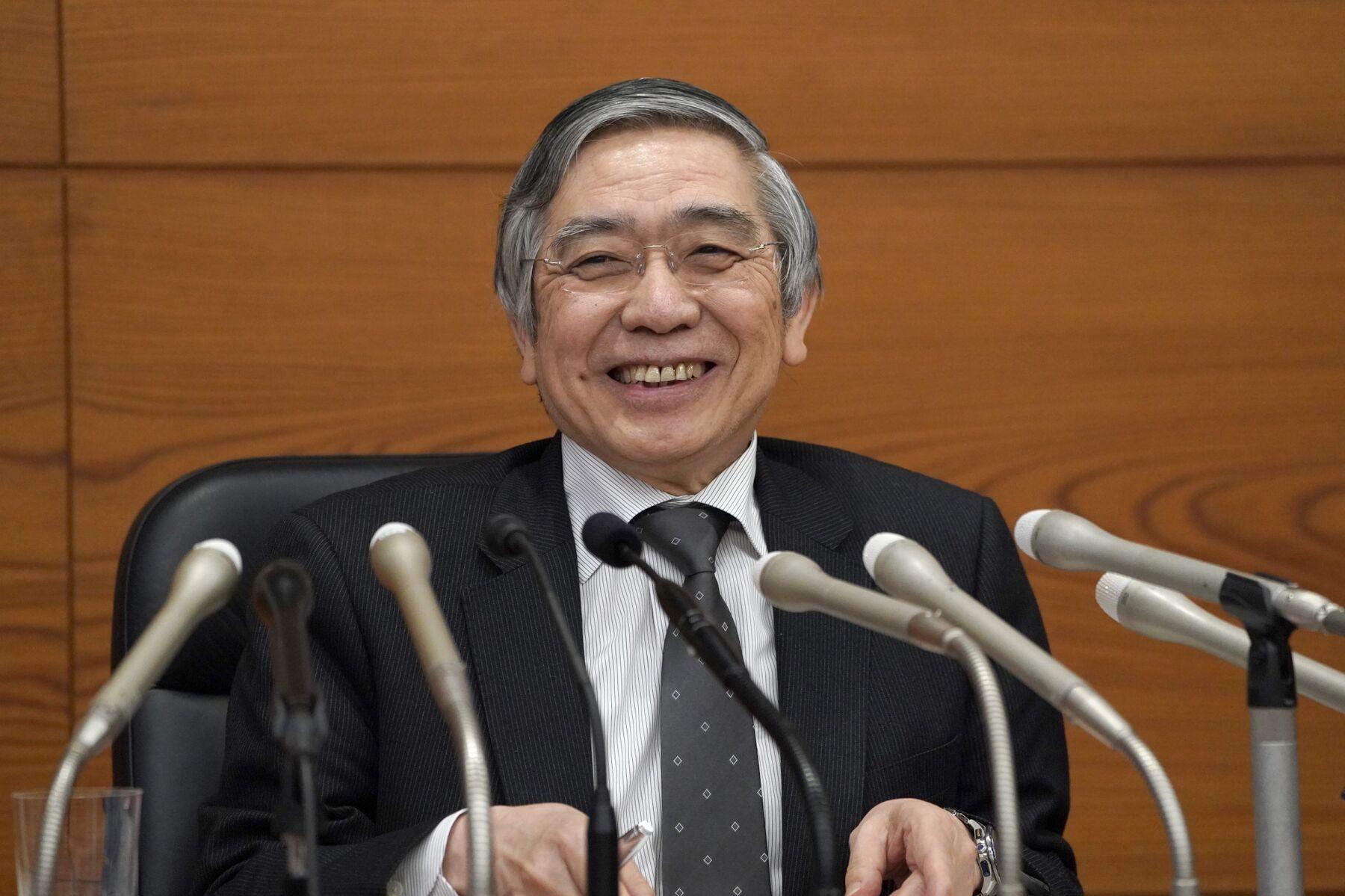 【黒田発言】日銀総裁、ETF購入「株価安定のため」と言い間違え-直ちに訂正