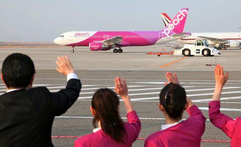 Peach Begins Flights in Japan