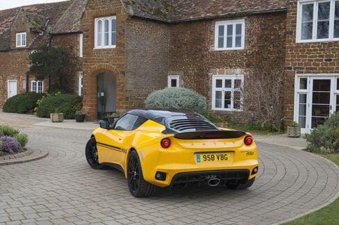 The Lotus Evora 410.