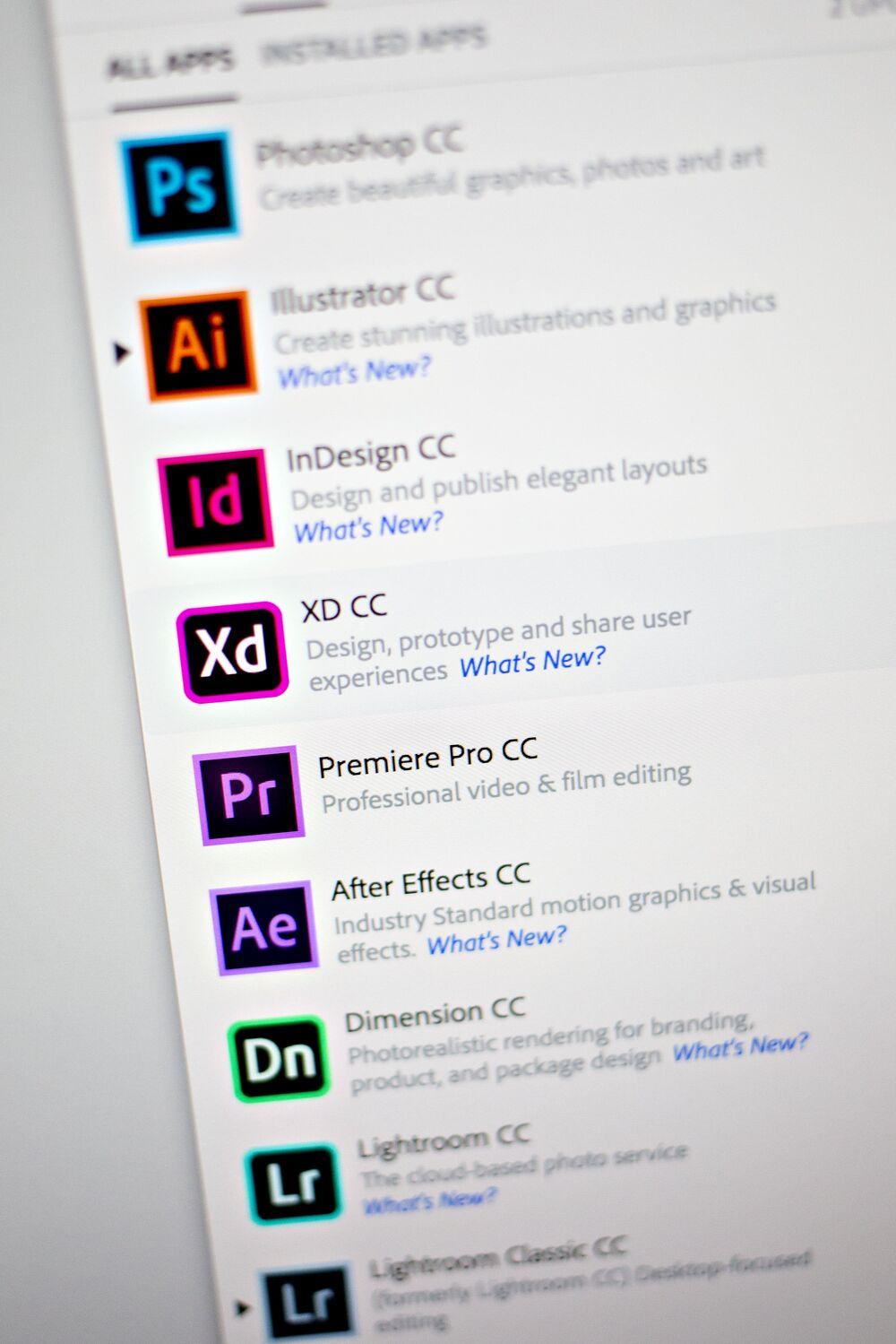 Adobe Sales Forecast Beats Estimates as Creative Products