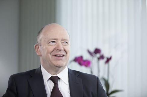 John Cryan interviewed in London on March. 6.