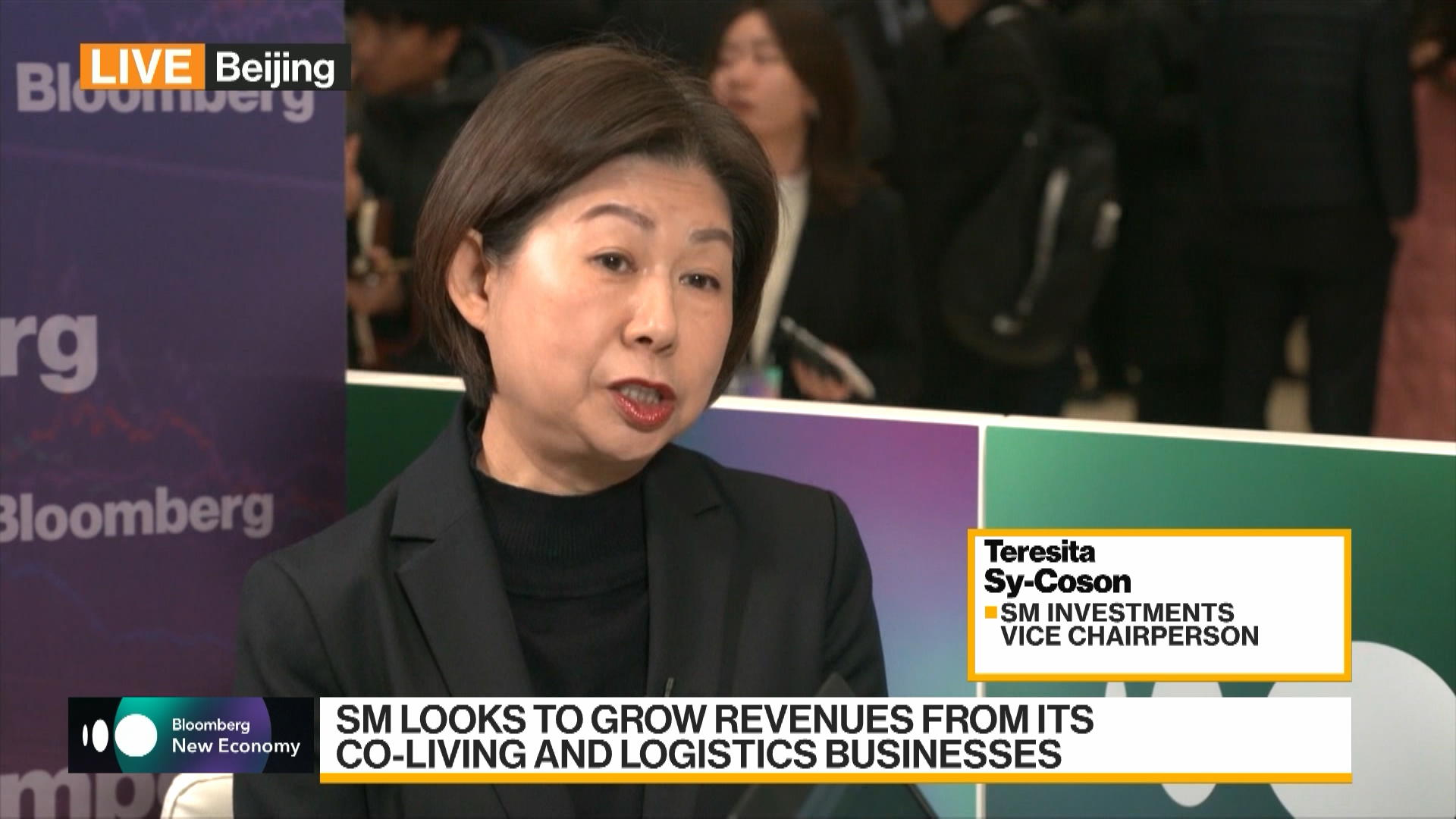 U.S.-China Trade, Philippines Business Sentiment Discussed by Teresita Sy-Coson of SM Investments