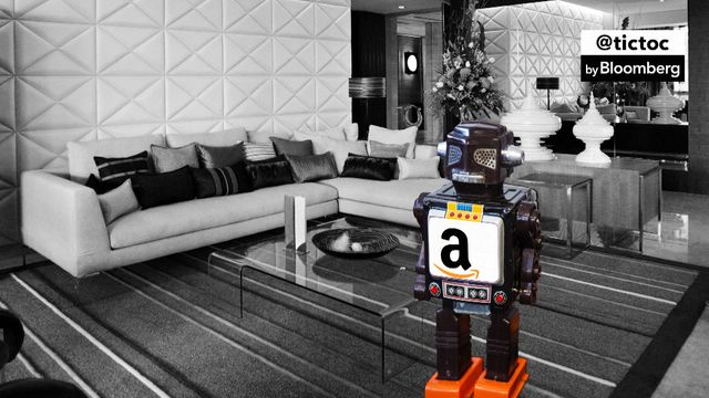 Amazon developing secret home robots?