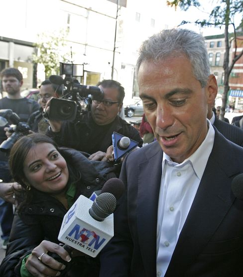 President Obama's Former Chief of Staff Rahm Emanuel