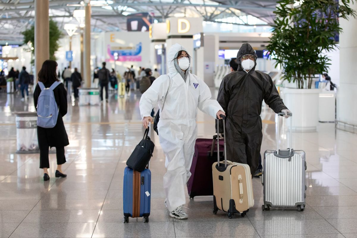 Josh Vignona Covid-19 coronavirus travel airport protocols