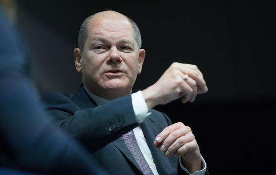 Germany's Scholz Says Finance Must Prepare for No Deal Brexit