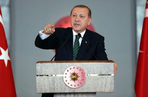 Turkish President Erdogan speaks at Local administrators meeting in Ankara