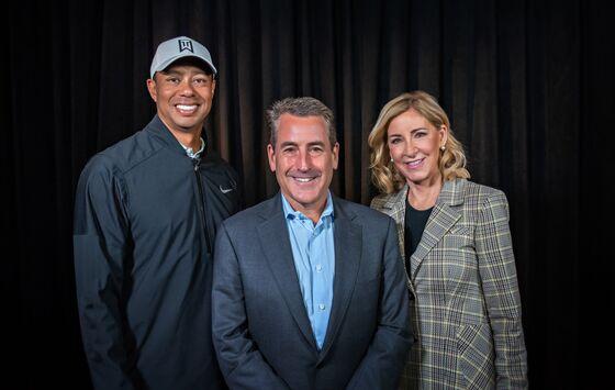 Tiger Woods and Goldman Vet Doug KimmelmanPlanning a California Campus