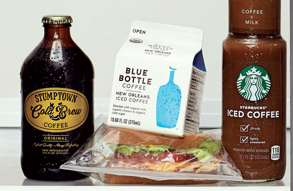 Best Bottled Iced Coffee A Cold Brew Taste Test Bloomberg