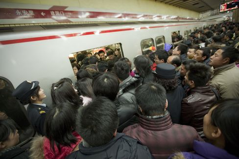 China Urban Population Exceeds Rural First Time