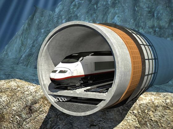 World's Longest Undersea Rail Tunnel Hits First Obstacle