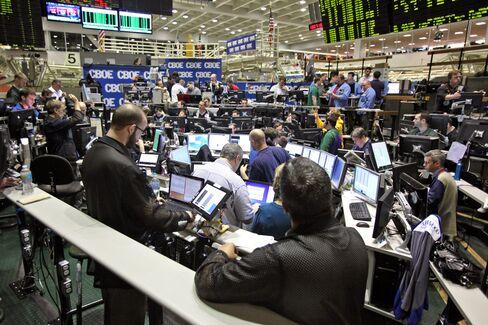 VIX Discount Erodes on Concern Europe Will Sink S&P 500