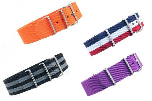 NATO straps are the original summer watch strap.