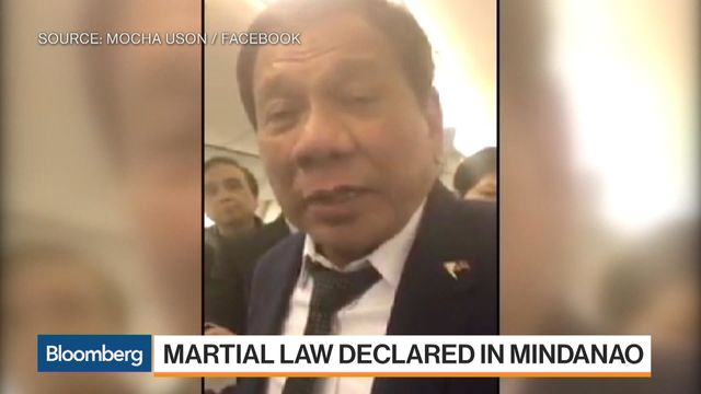 Philippine president declares martial law in Mindanao - spokesman