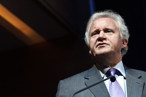 General Electric Co.Chief Executive Officer Jeffrey Immelt