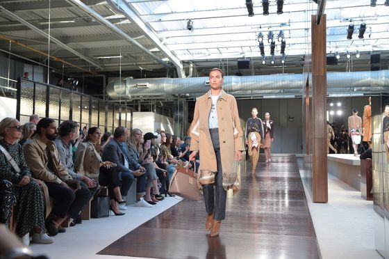 Burberry's New Designer Mixes No-Frills Show and Streetwear Drop