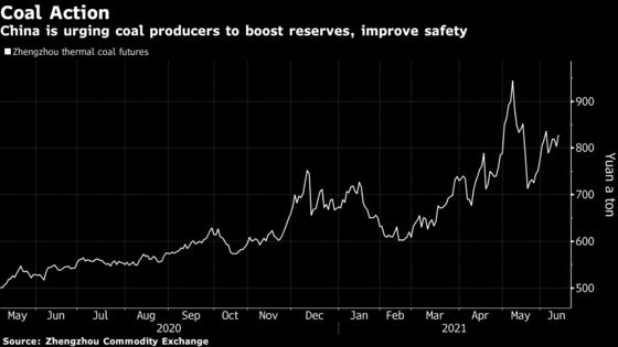 China Is Racing to Build Coal Storage Capacity as Prices Soar