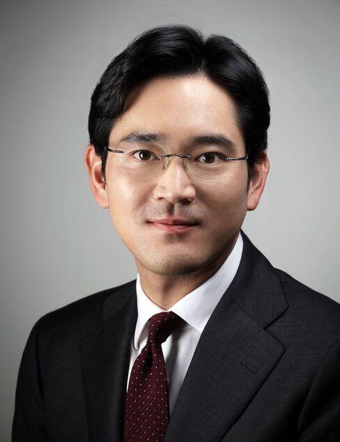 Lee Jae Yong, president of Samsung Electronics Co.