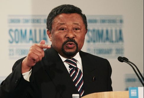 AU Commission Chairman Jean Ping