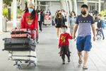 Flights From China Continue To Arrive In Sydney Following Coronavirus Outbreak