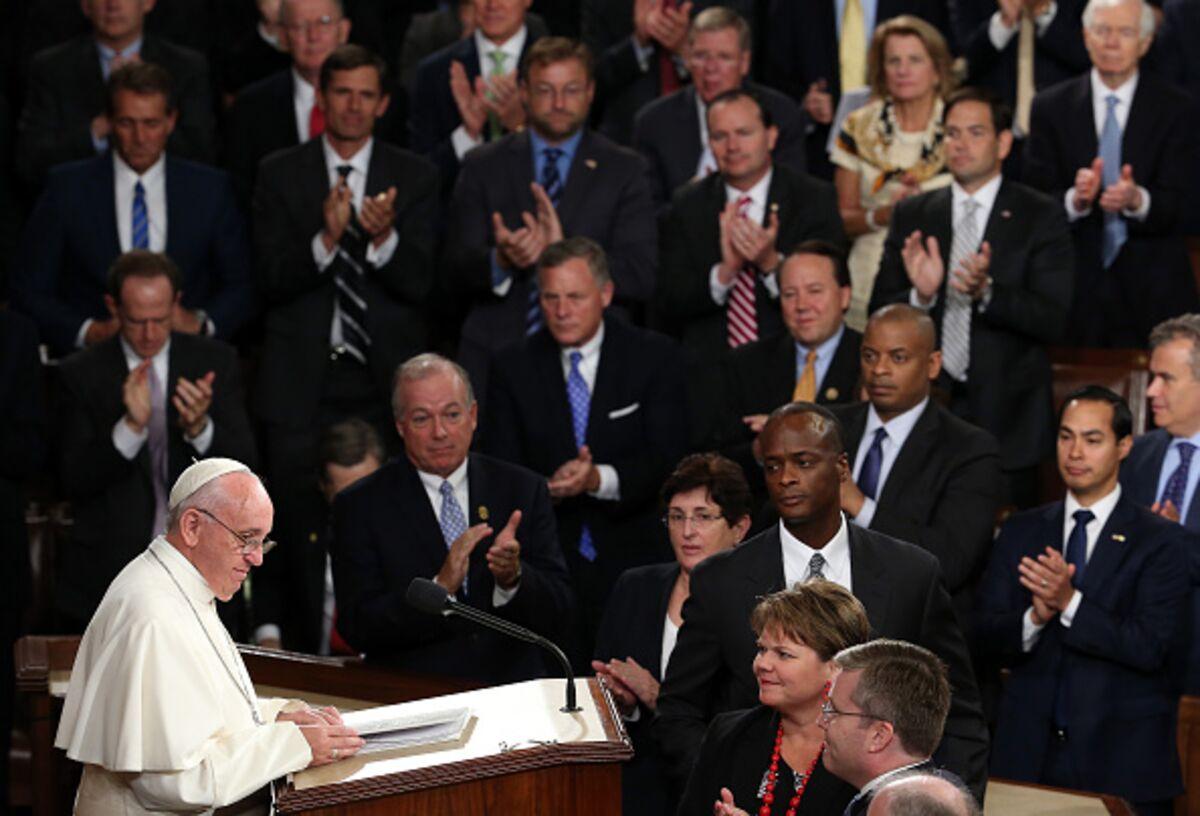 The Pope Shows Congress How to Do Politics
