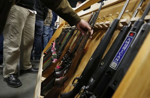Gun-Law Fights Go Beyond Democratic States a Year After Newtown