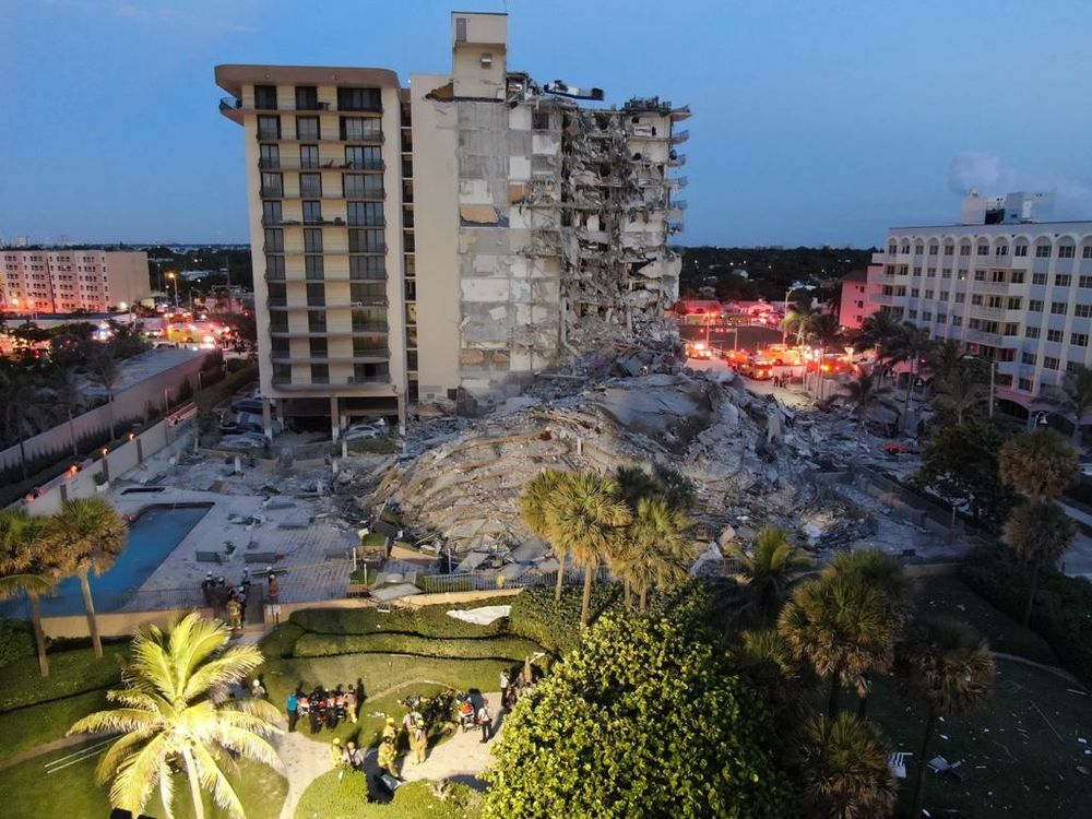 Miami Building Collapse: Champlain Towers Condo Partially Collapses, AP  Reports - Bloomberg