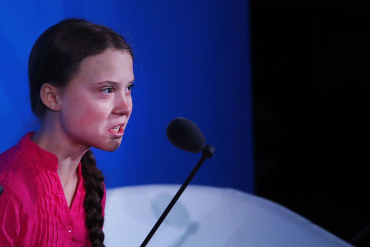 Greta Thunberg Is Done With Making Friends