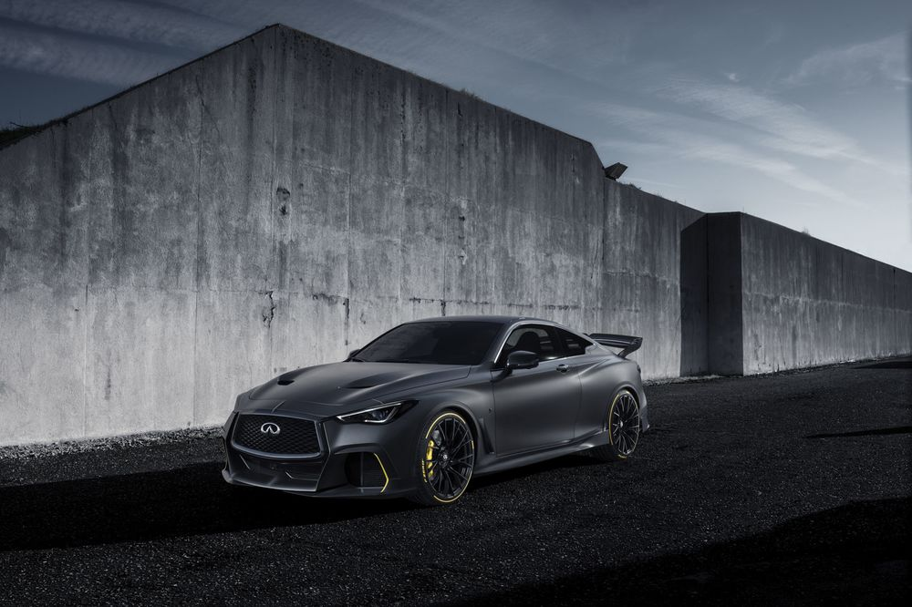 Infiniti Debuts Project Black S Hybrid Inspired By Formula One Racers Bloomberg