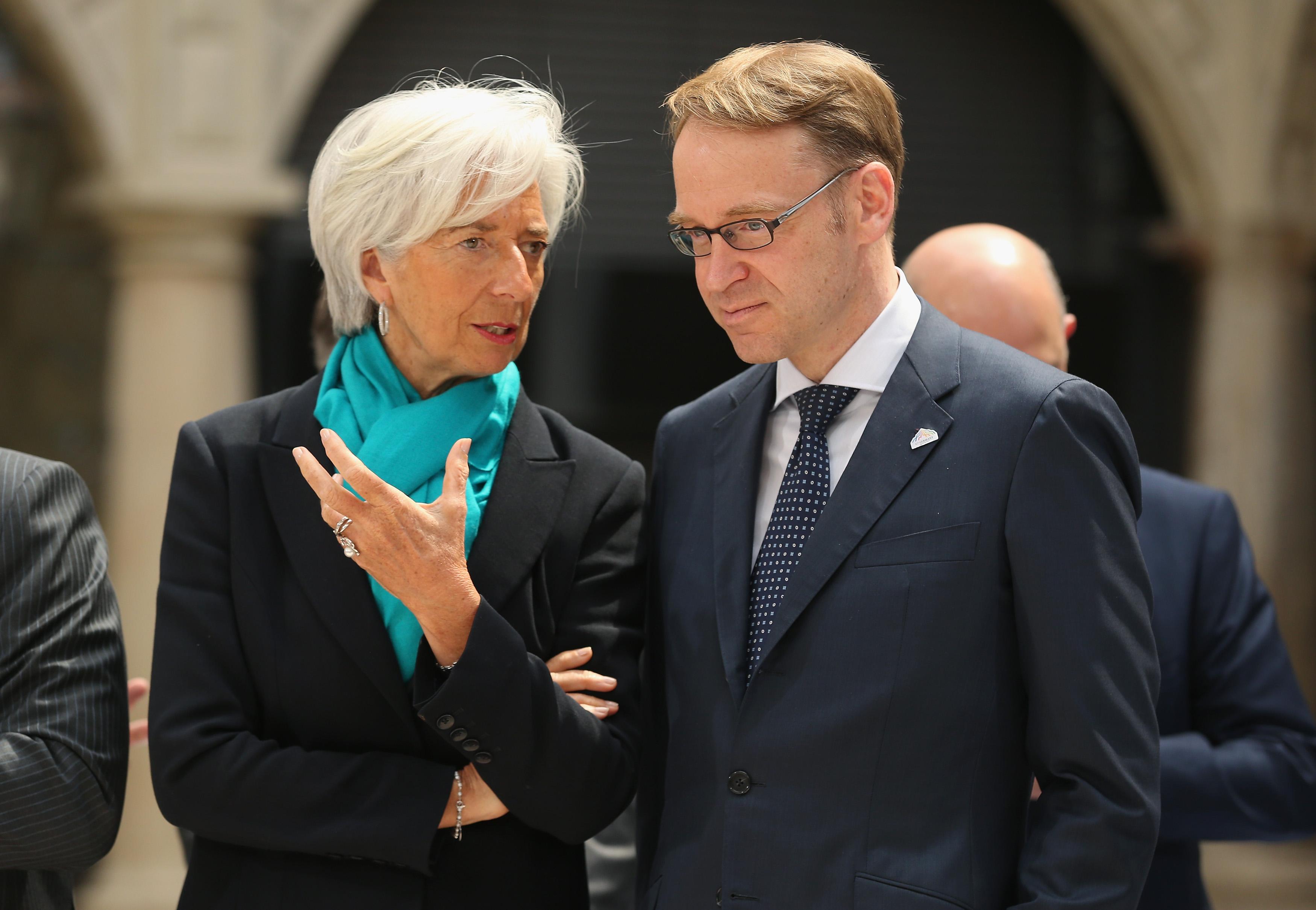 Weidmann Hits Back After IMF's Lagarde Criticizes German