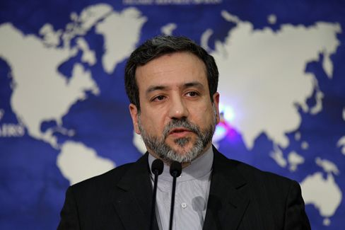 Deputy Foreign Minister Abbas Araghchi