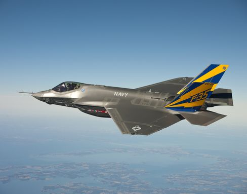 Lockheed F-35 Jet Seen as Too Big to Kill With Jobs in 45 States