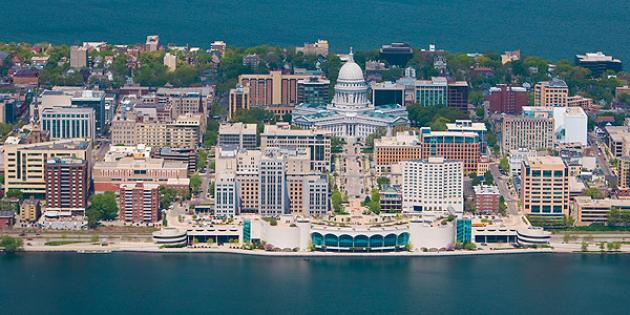 Fastest-growing city in Wisconsin: Madison