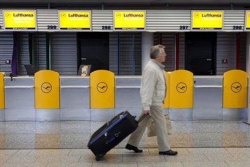 Lufthansa, Continental Offer to Cede Slots in EU Approval Bid