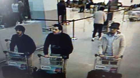 Three suspects of the attacks at Belgium's Zaventem Airport
