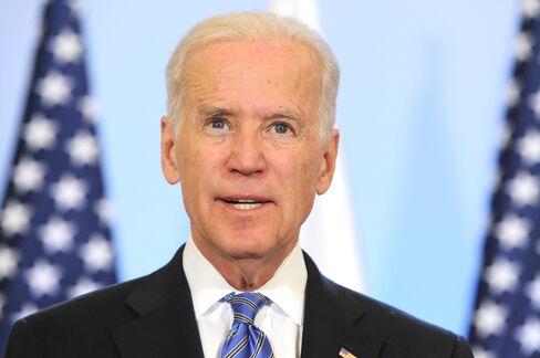 Biden Says Russia's Crimean 'Land Grab' Opposed Worldwide