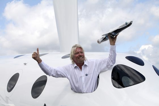 Richard Branson Splits Up $1.7 Billion Stake in Virgin Galactic