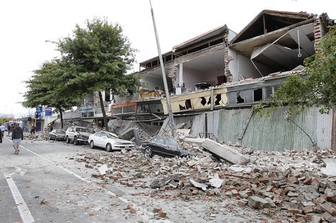 New Zealand Quake May Cost Insurers $6 Billion, Peel Hunt