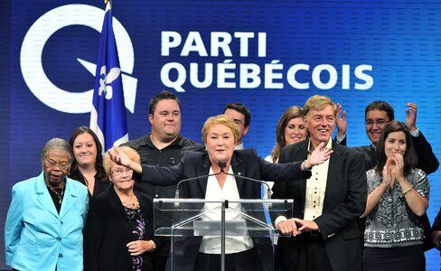 Separatist Party Wins Minority as Shooting Mars Quebec Vote
