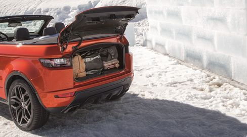 Land Rover would like you know you can use its convertible in the snow.