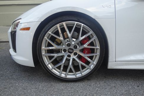 The red brake calipers cost $700 extra but add a touch of flash.