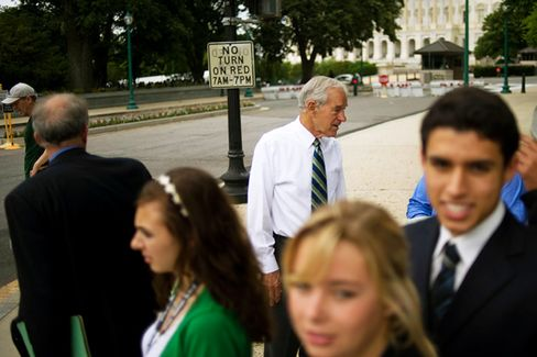 Ron Paul Stops Campaign to Focus on Convention