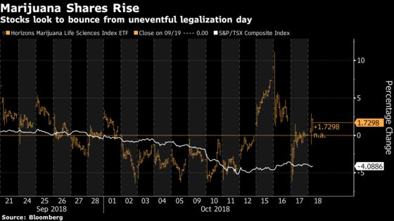 Pot Stocks Gain on Day 1 Channel Checks, U.S. Listing Plans