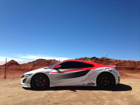 The 2016 Acura NSX will produce roughly 550 horsepower and hit 60 mph in well under 4 seconds.