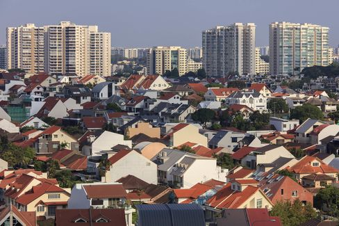 Images Of Public And Private Housing As Home Price Data Is Released