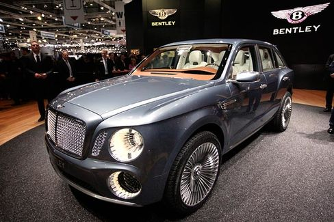 Bentley to Build an SUV of Its Own