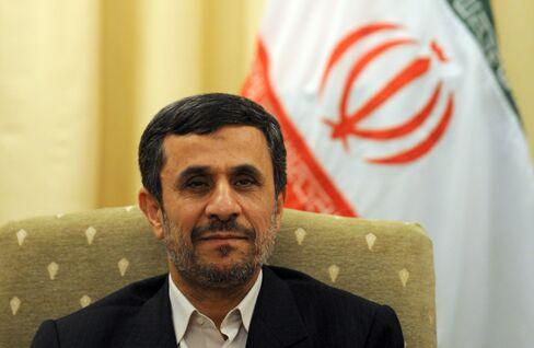 Iran's President Mahmoud Ahmadinejad