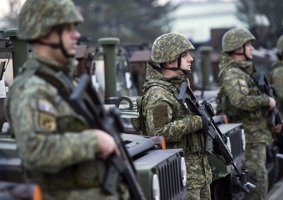 New Army in Europe's Most Volatile Region Raises Balkan Stakes