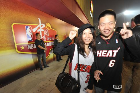 NBA China Revenue to Increase at Least 10% Annually, Stern Says