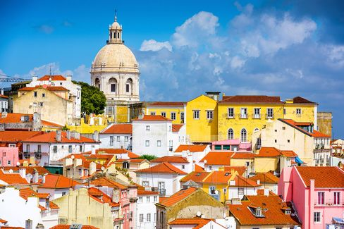 Lisbon's architecture is not always reminiscent of San Francisco